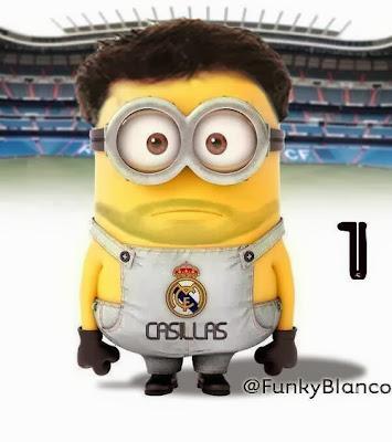 Minion Iker Casillas - Futbol Parodia
