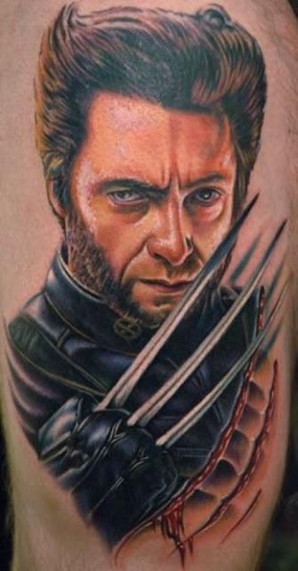 Tatuaje de Wolverine