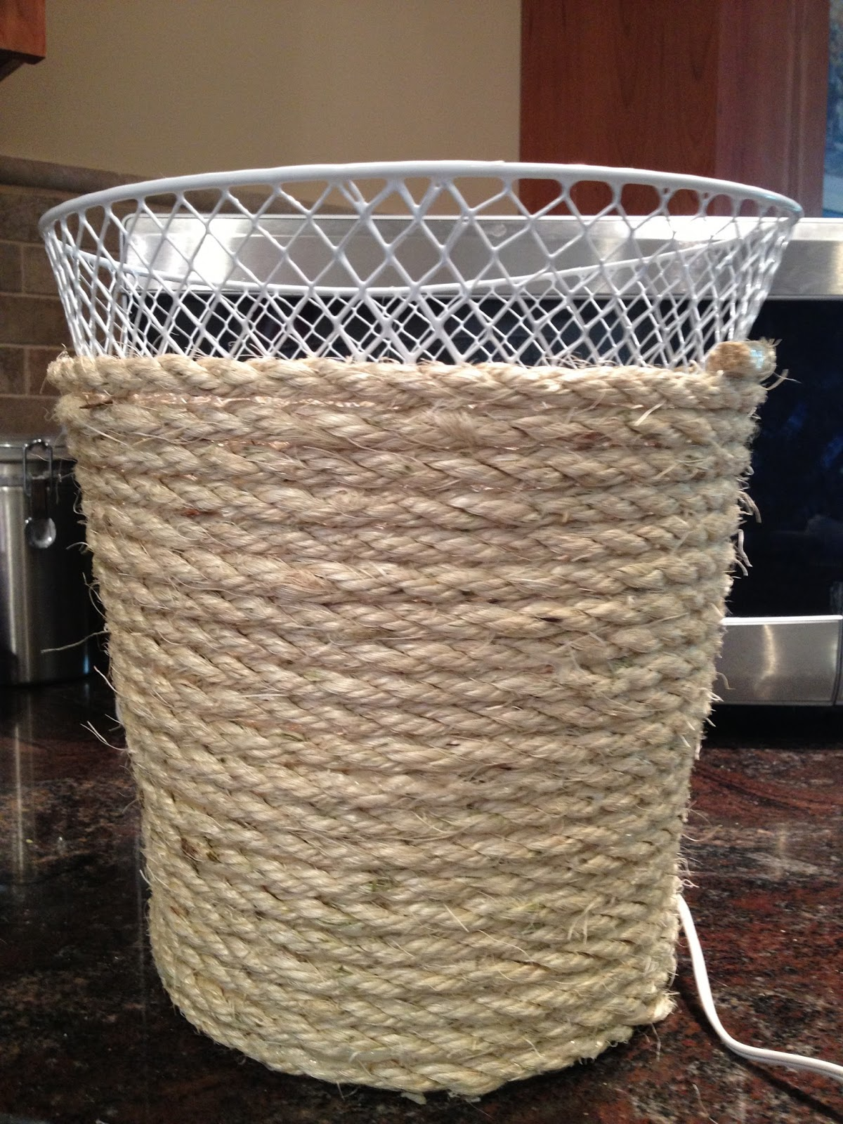 Pottery barn trash can - Dollar Store Trash Can Makeover