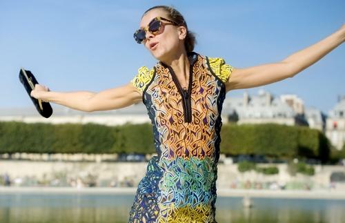 Printed dress trend