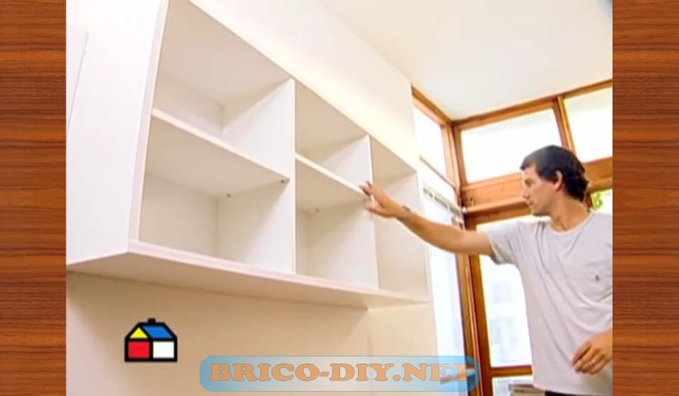 Como fijar muebles de melamina para cocina alacena alta for Programa para fabricar muebles de melamina gratis