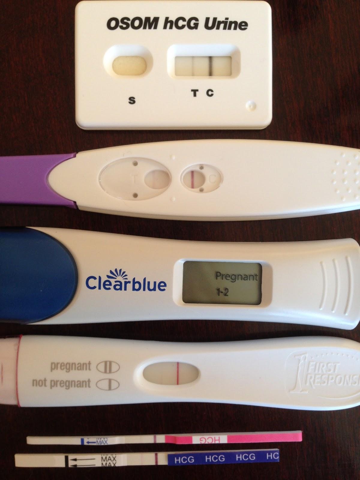 Do you take pregnancy test clomid