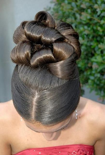 African american women wedding hair style hairstyles for women