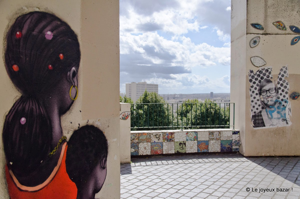 Paris - Belleville - street art - Seth