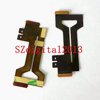 NEW Shaft Rotating LCD Flex Cable For Casio EX-ZR50 Digital Camera Repair Part