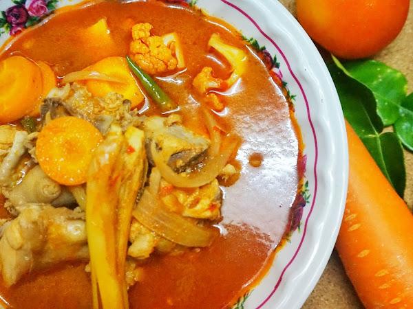 Resepi Tom Yam Thai Pekat ala Cik Ngah