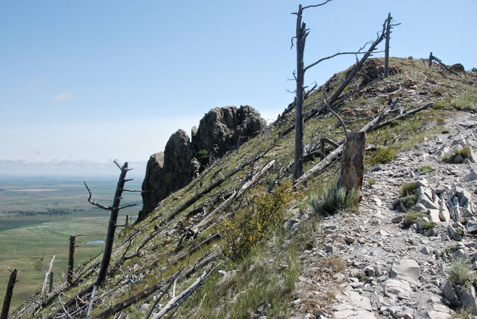 hiking, bear butte, south dakota