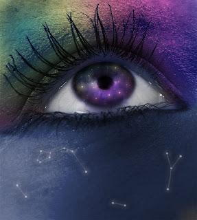 ojo violeta