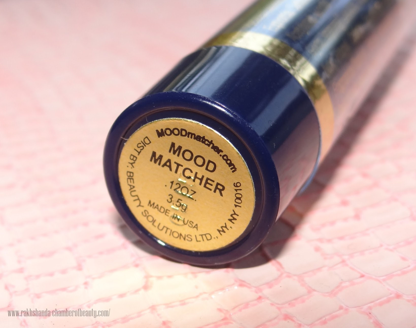 Fran Wilson Moodmatcher Lipstick - Review, Swatches and Price in India, Indian beauty blogger, Chamber of Beauty