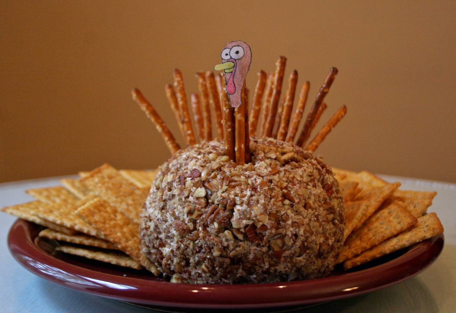 Turkey Cheeseball & Turkey Cheeseball - The Surznick Common Room