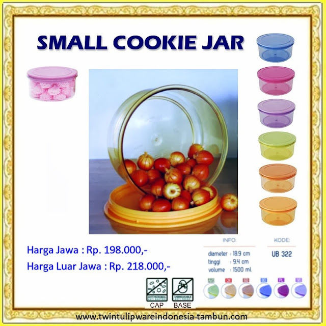 Small Cookie Jar Tulipware 2013