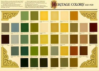 exterior wall paint color sample