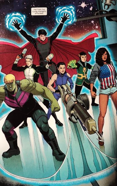 Young Avengers # 7 - Kieron Gillen Jamie McKelvie