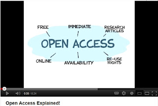 image of Open Access Explained on Youtube