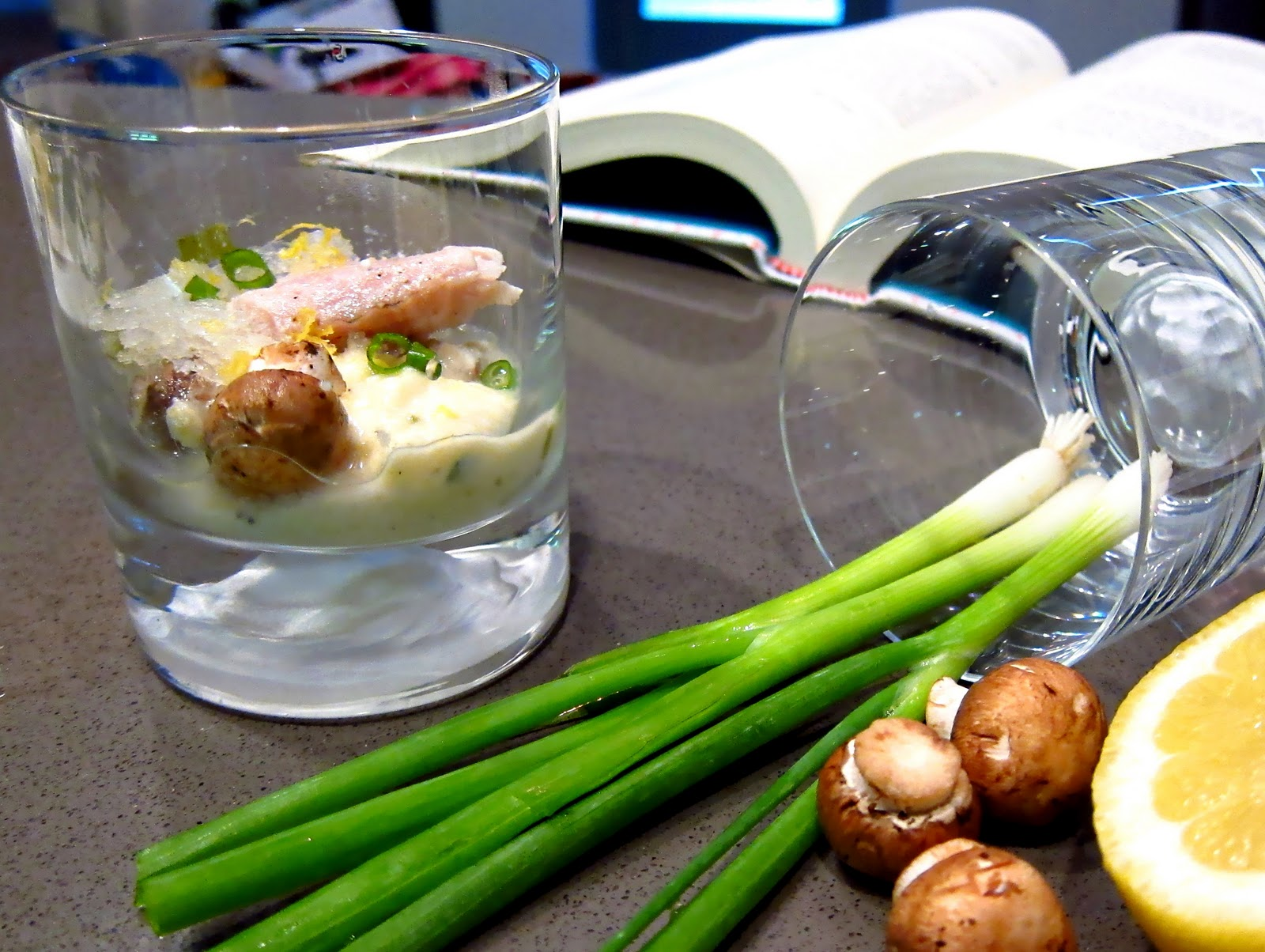 Bacon and souffl showcasing dinner ideas for two 5 star for Poaching fish in wine