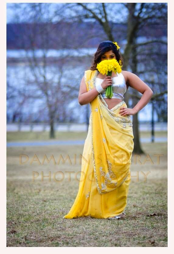 Kaveesha Kavindi saree