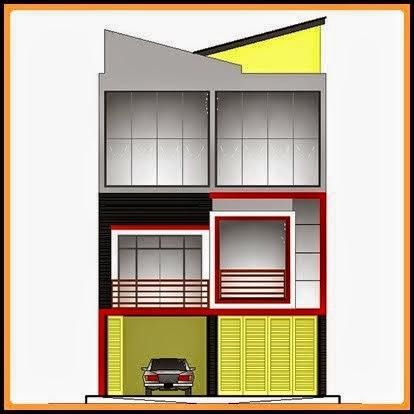 Contoh Gambar Ruko Minimalis 2 Lantai yang Bagus