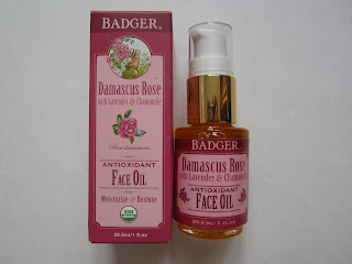 badger company face oil