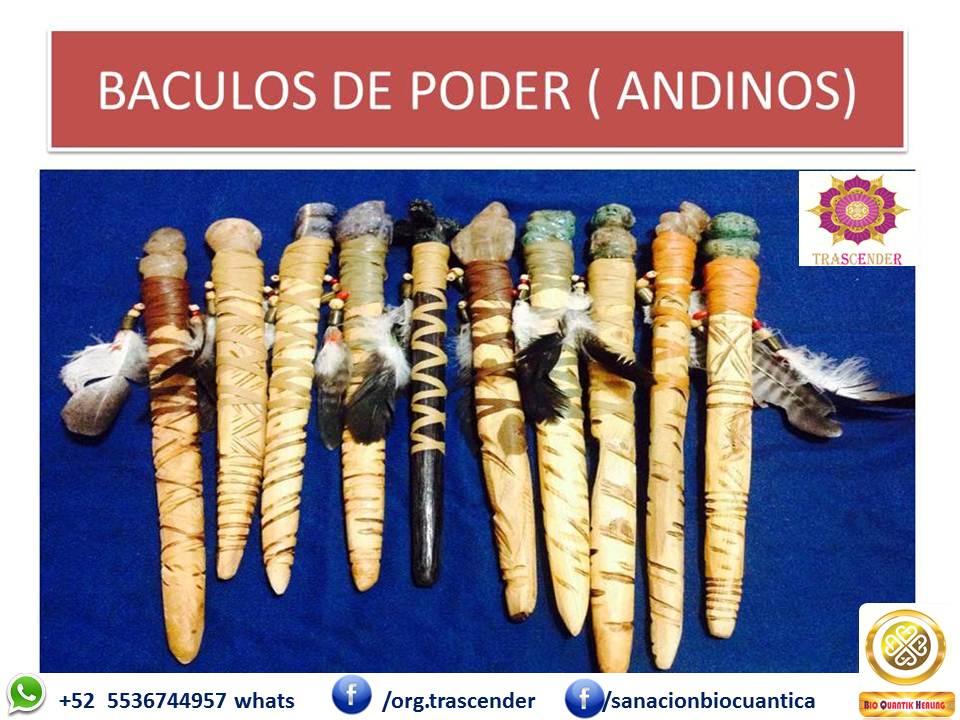 BACULOS DE PODER ANDINOS