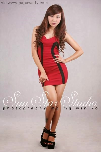 Myanmar Model - Pan Pan in Beautiful Studio Photoshoot