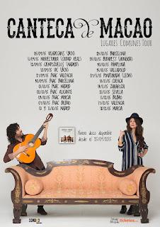 Canteca de Macao, Lugares Comunes, Gira, Directo, Tour, Concierto