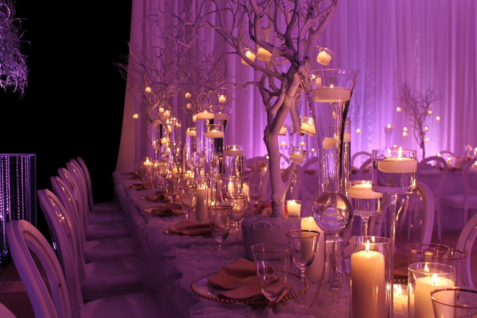 Decor flowers and lighting by us Davinci Florist