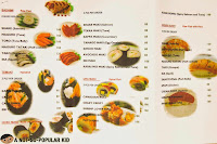 Genji-M Ala Carte Menu and Prices 2