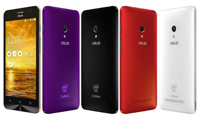 Update Spesifikasi Asus Zenfone 5 Bulan Juni 2014