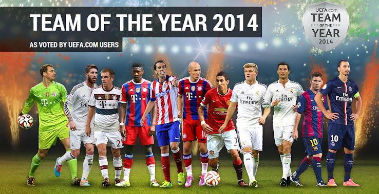 En el 11 ideal de la UEFA, domina adidas