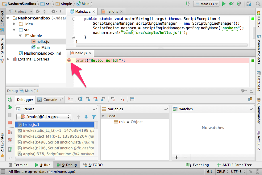 how to use intellij idea for javascript