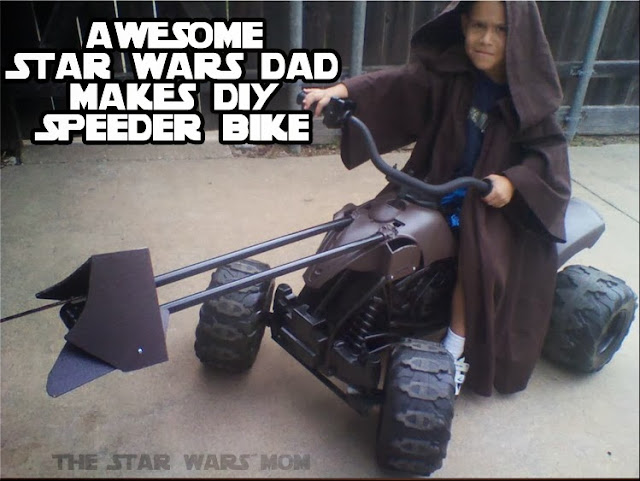 DIY Star Wars Speeder Bike