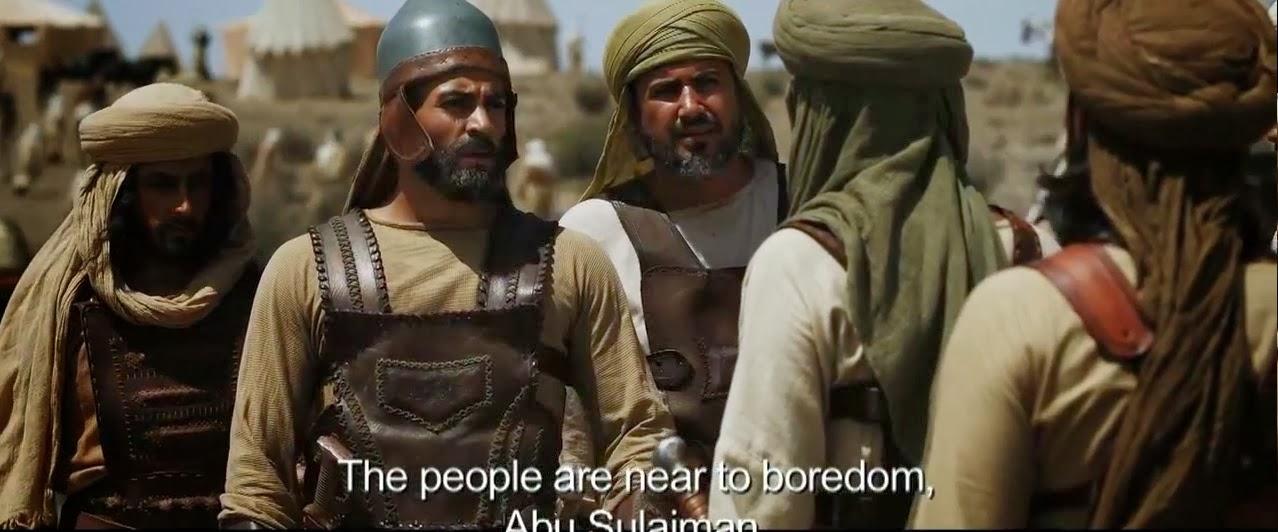 Khalid Ibn Walid with Companions