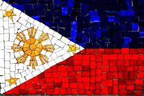 Philippine Flag mosaic