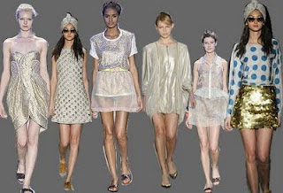 fotos de modelos de vestidos bege