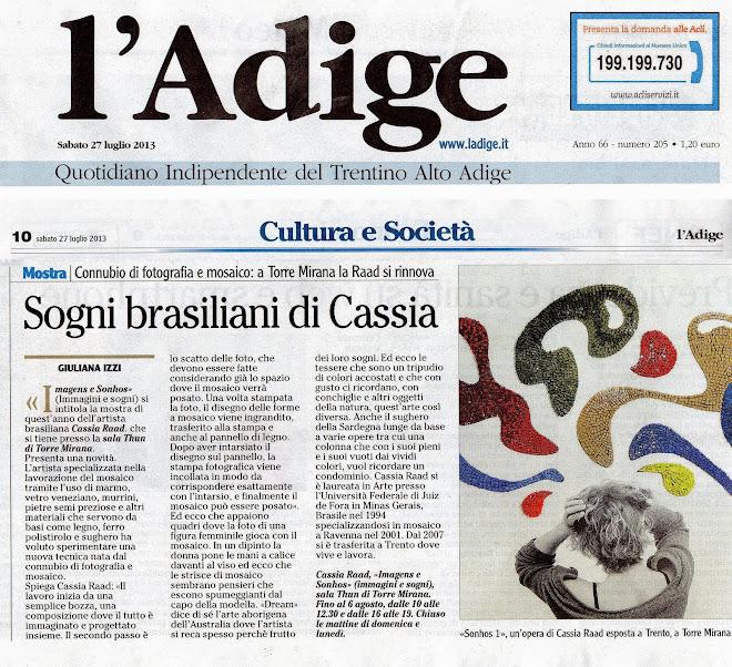 Mostra Imagens e Sonhos - Trento 2014