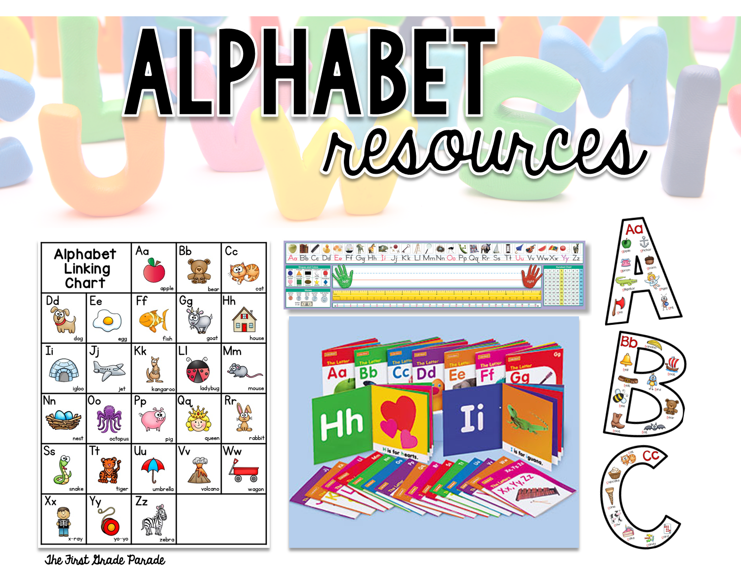 Worksheet Make A Mnemonic With These Letters the first grade parade all about alphabet i love that they have picture cues for each letter keep a set of books in my station
