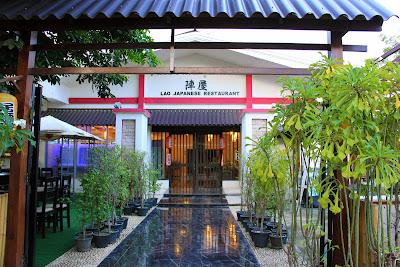 Jinya Japanese Restaurant in Pakse - Laos