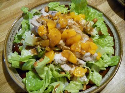 Sesame Pork Salad