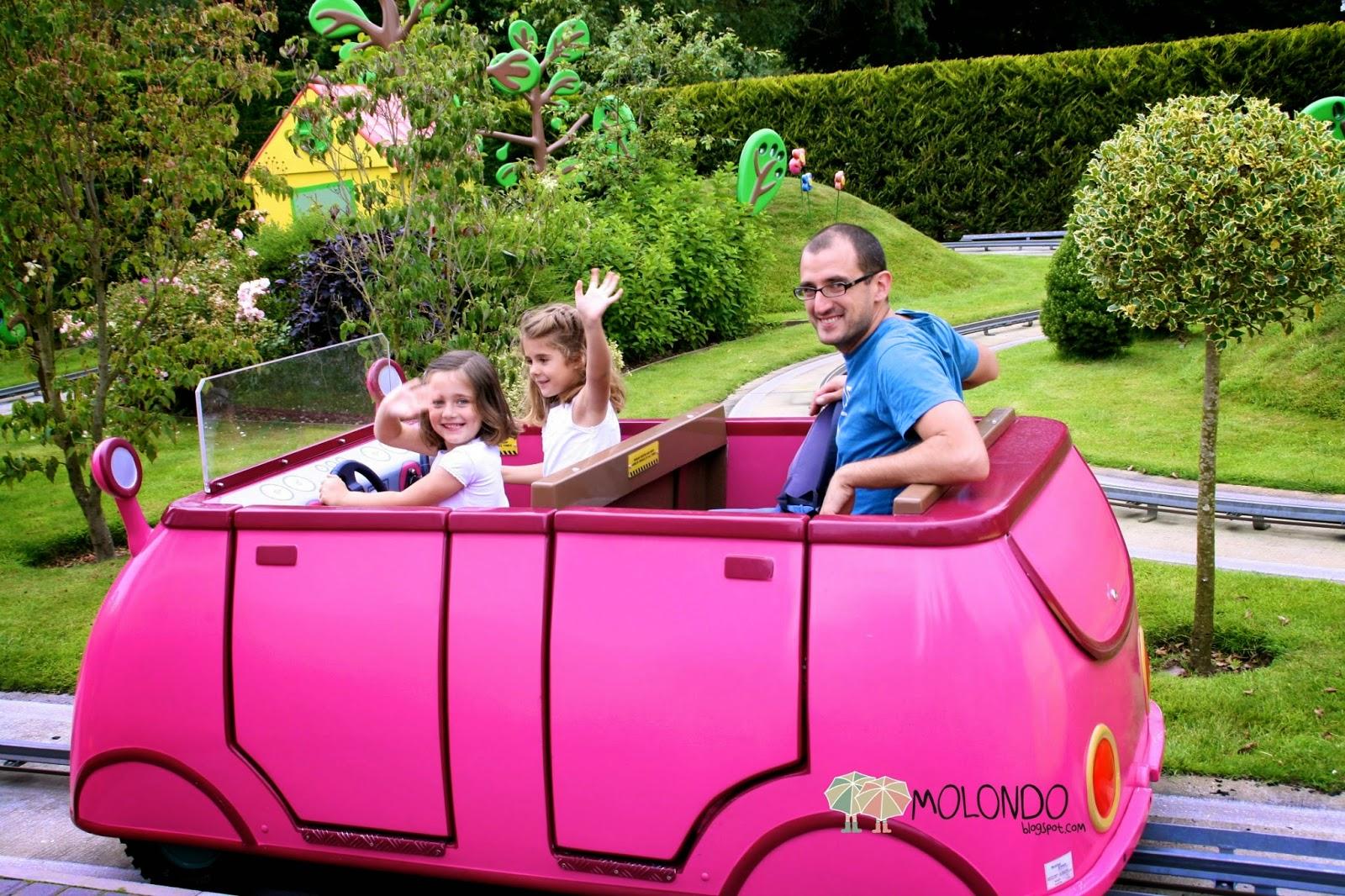 MatiOli en Londres Peppa Pigs World The best plan with kids