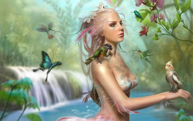 Fantasy Lady Bird