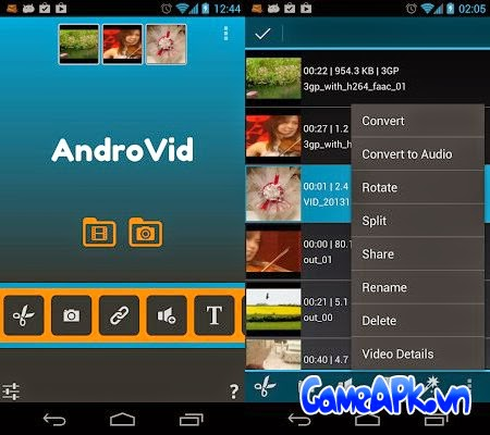 AndroVid Pro Video Editor v2.5.4 Full cho Android