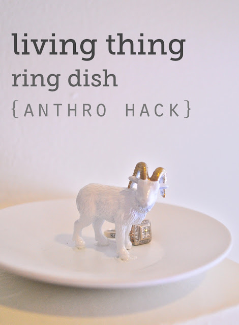 diy ring dish inspired by anthropologie