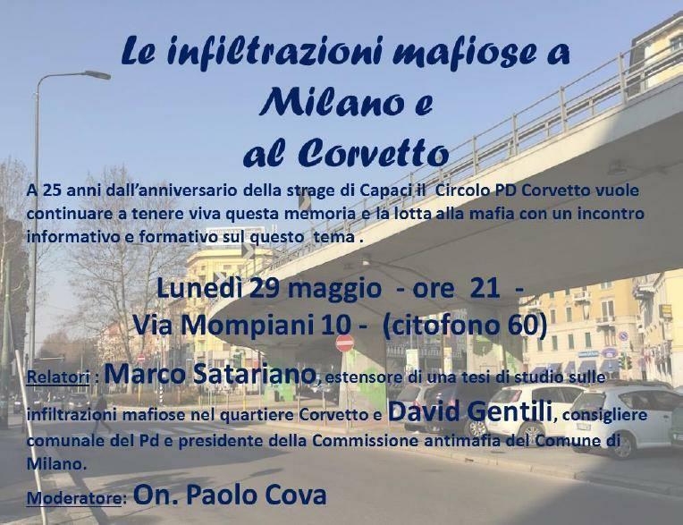 29 maggio - Corvetto