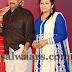 Poornima Bhagyaraj Blue Salwar