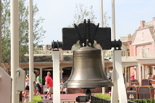 Liberty Bell Replica - Liberty Square - Magic Kingdom - Walt Disney World - Orlando, Florida