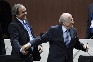 Sepp Blatter, Michel Platini banned