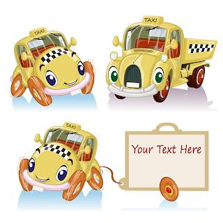 オモチャの自動車の漫画 CARTOON TOY CAR