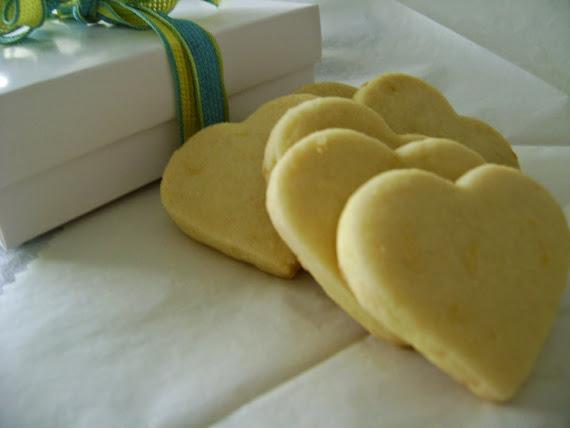 corações de limão siciliano