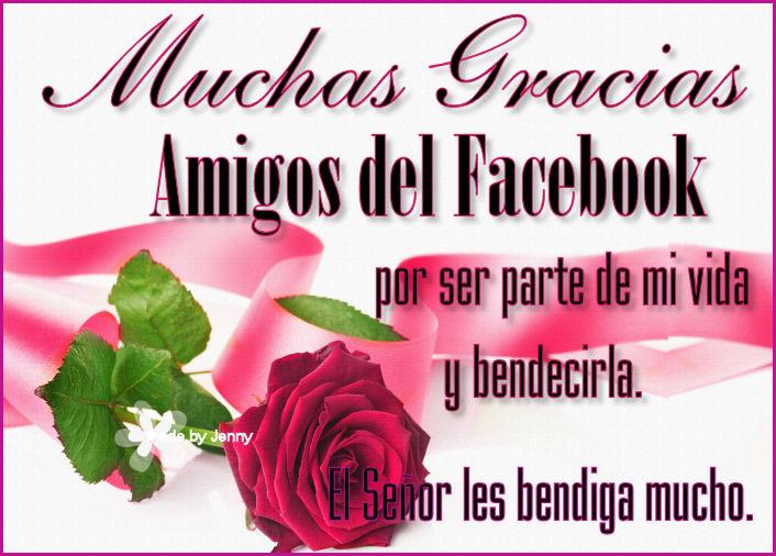 bendiciones amigos facebook