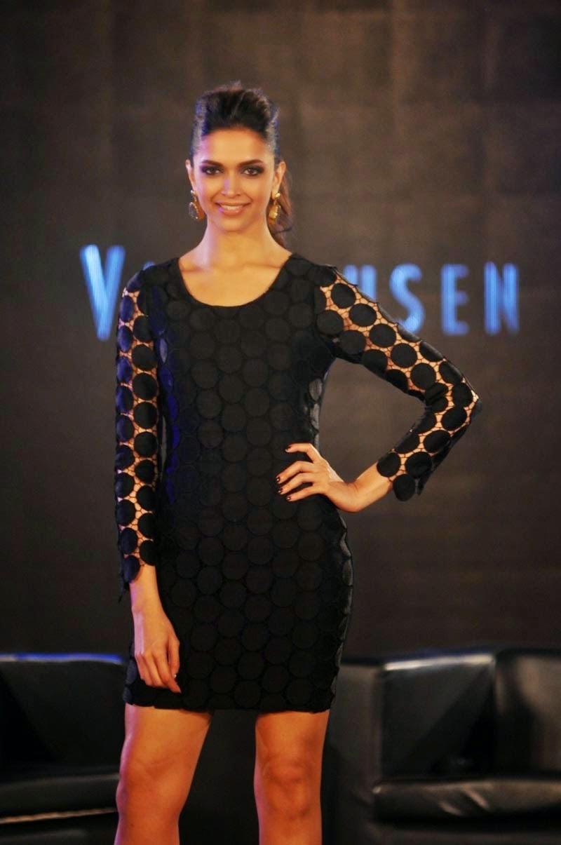 Deepika Padukone at Van Heusen Collection Launch